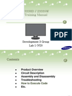 Samsung Sync Master 2333hd 2333sw Training Manual
