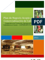 Plan de Negocio Cafe COPROCAFE Final
