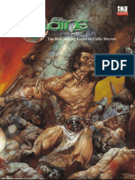 d20 Sláine the RPG Of Celtic Heroes