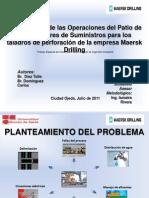 Optimizacin de Las Operaciones Del Patio de ores (TESIS)