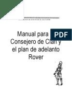 Manual Para El Consejero de Clan y El Plan de Adelanto Rover de El Salvador