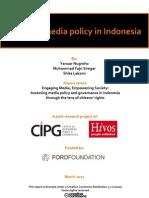 Media Policy CIPG Hivos FINAL