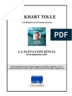 E.Tolle - Conferencia de Barcelona