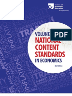 National Econ Social Standards