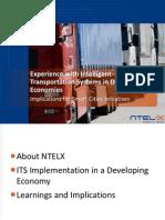 Smart Cities for All_NTELX_Patel_Intelligent Transportation