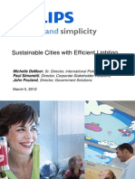 Smart Cities for All_Philips_Efficient Lighting