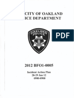 OPD Incident Action Plan Move-In Day 28-29 January, 2012