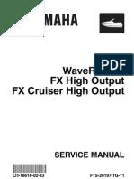 Yamaha FX HO Service Manual