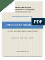 PRESAS DE ENROCAMIENTO