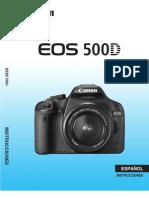 Canon Eos 500D en español