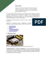 Componentes electrónicos activos