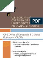 U.S. Educational System PPT