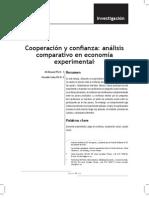 Cooperacion y Confianza_analisis Comparativo en Economia Experimental.