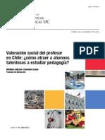 Valoracion Social Del Profesor Cabezas Claro 2011