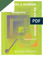 libro analisis y diseño de experimentos montgomery