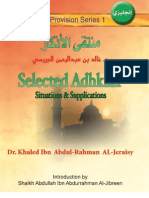 Selected Adhkaar (Dua'a)