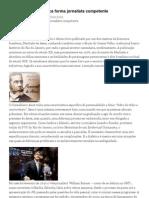 A Universidade Pública forma jornalista competente