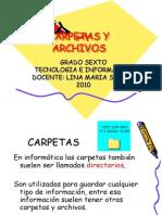 Carpetas y Archivos Sexto Bn