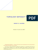 Topology Without Tears - SIDNEY a MORRIS