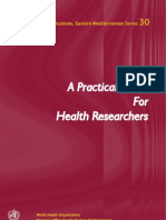 A Practical Guide for Health Researchers