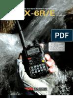 VX 6R Brochure