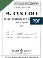 Cuccoli Metodo Elemental Para Violoncello Vol 1