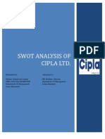 Cipla Ltd Company Profile