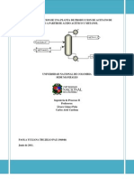 Producción de acetato de metilo