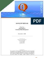 RFP Client Response