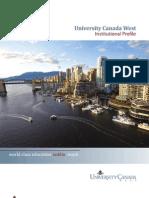 UCW Institutional Profile - Aug 9 2010