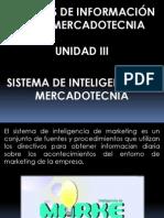 Unidad 3.Sistema de Inteligencia de Mercadotecnia