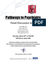Pathways to Psychiatry