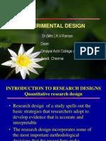 Experimental &Quasi Experimental Design