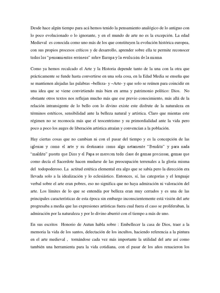 Analisis de La EDAD MEDIA