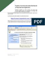 Manual Acceso Correo Estudiantes de La Facultad 140611