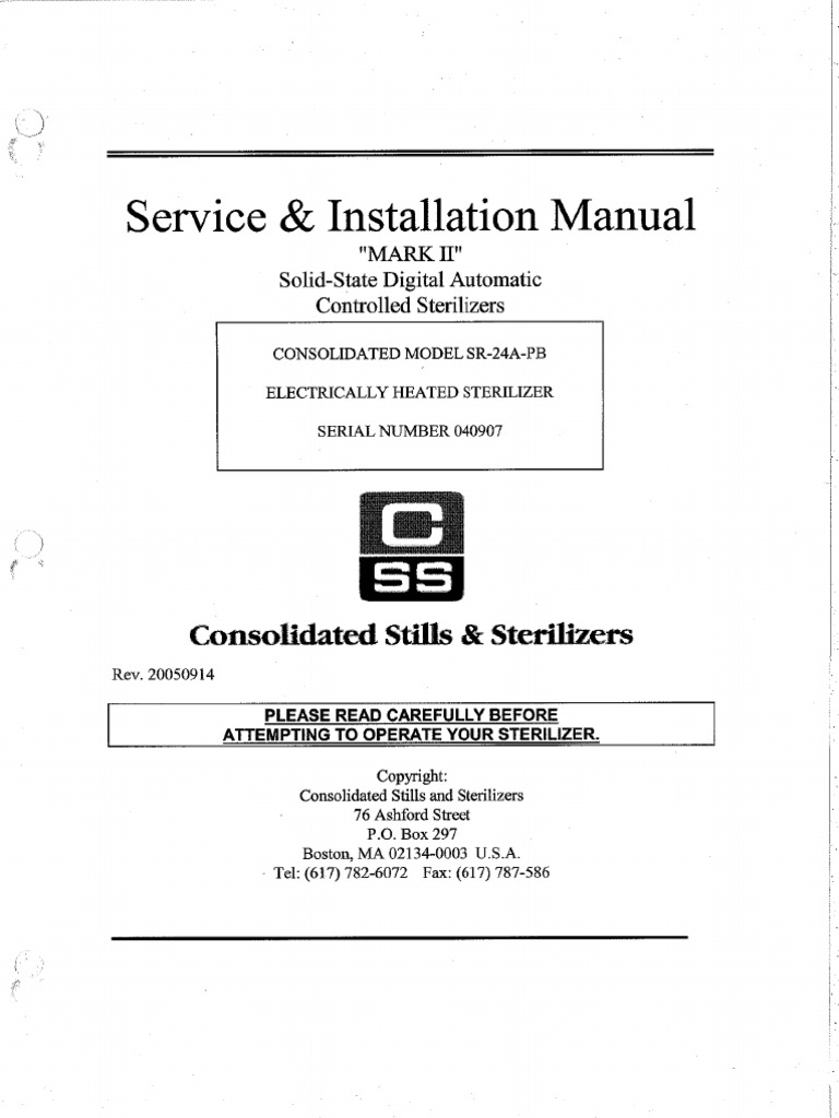 Consolidatedautoclave Serviceinstallmanual Topic Ssr Solid State Relay And Arduino Uno Read 2938 Times