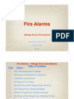 Fire Alarm Voltage Drop Presentation