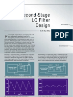Second Stage LC Filter Design