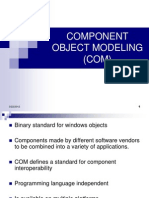Component Object Modeling