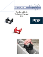 Formblock Tech Manual 2010