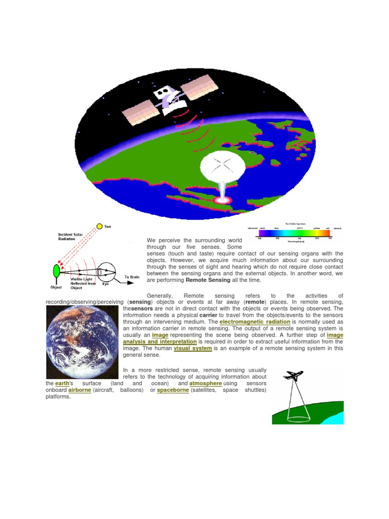 Rs What Infrared Remote Sensing