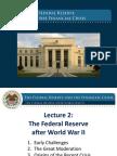 Лекция Бернанке № 2