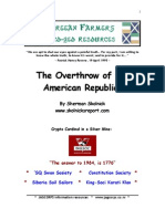 The Overthrow of the American Republic-Sherman Skolnick-2001