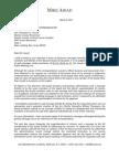 Letter to Prosecutor Regarding Absecon BOE Open Public Meetings Act Violation