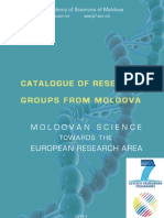 Catalogue of Research Groups From Moldova 2011