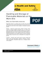 Handling of Flammable Liquid