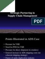 Strategic Partnership Relationship