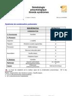 Semeiologie Grands Syndromes