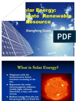 Solar Energy Presentation 0220