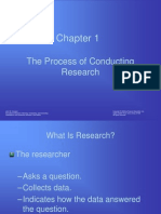 Chapter 01 Process of Research